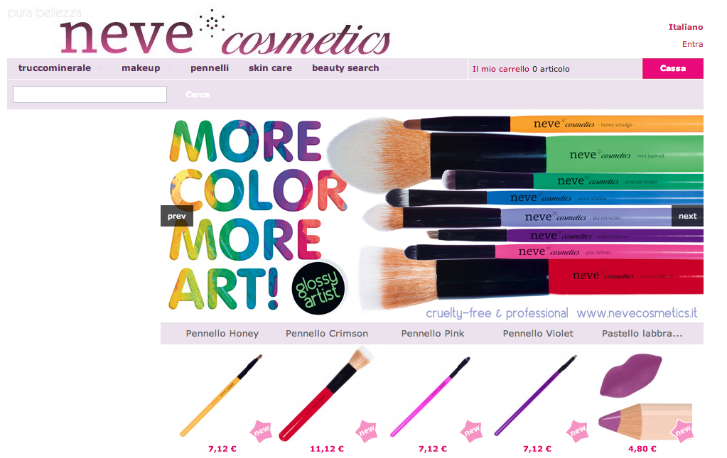 comprare make up online
